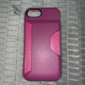 Speck iPhone 7 credit card holder phone case